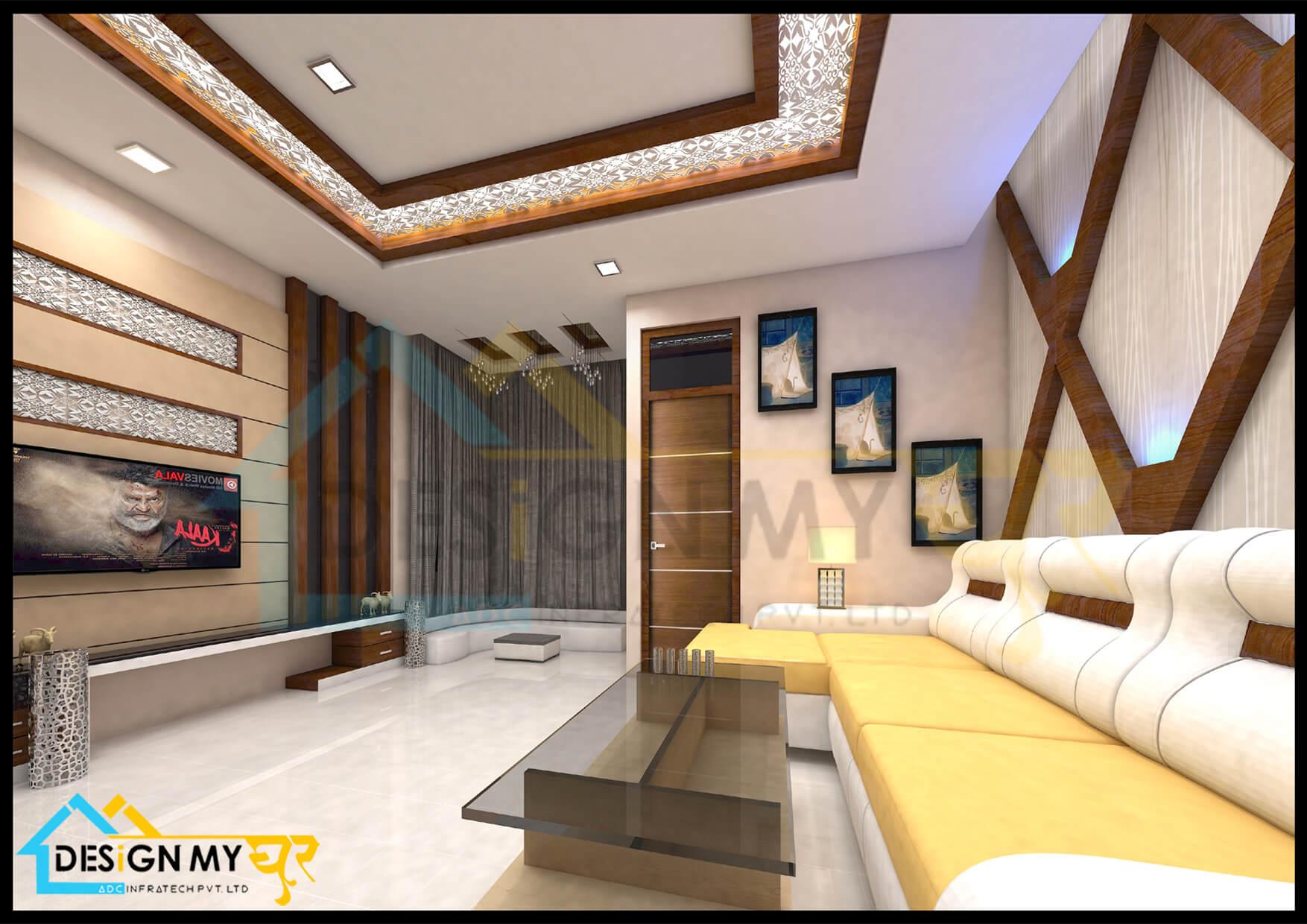 12x14 Drawing Room Interior
